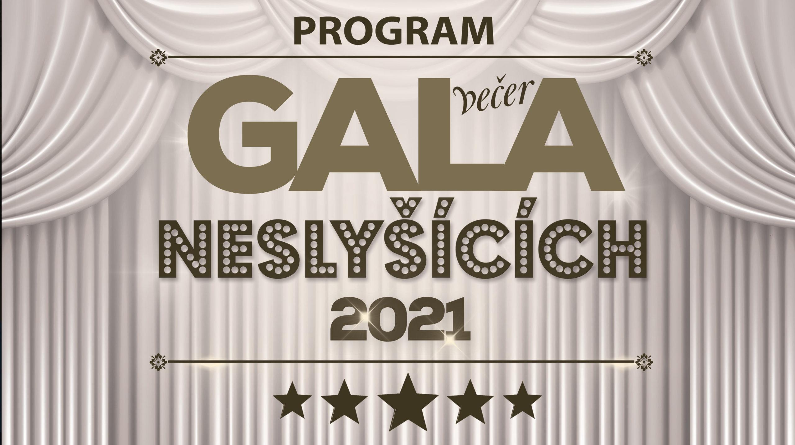 Pozvánka na Galavečer Neslyšících 2021 ve ZJ