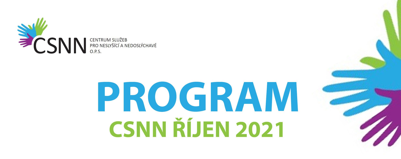 Program CSNN na říjen