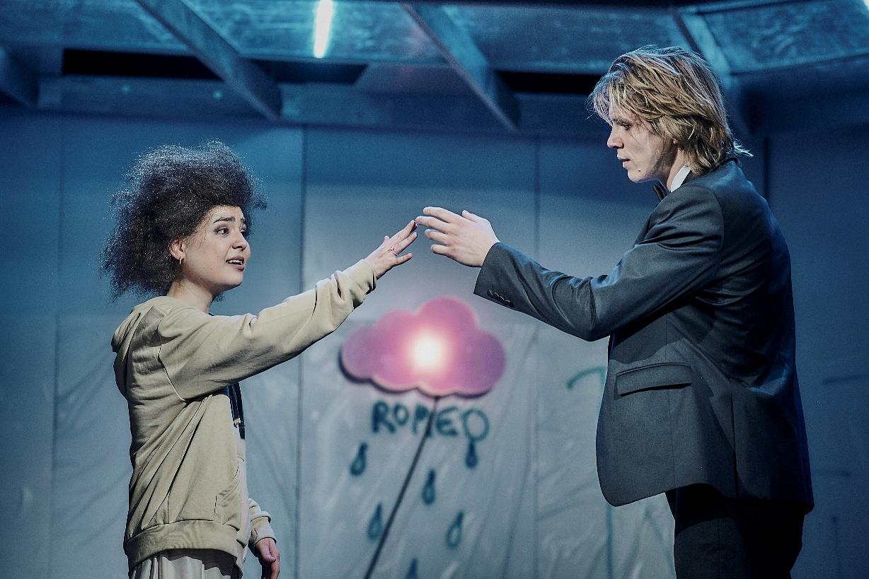 Pozvánka na divadelní představení Romeo a Julie